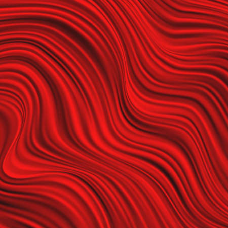 Dynamic abstract red liquid template background with curves lines and shadow. Fashion flyer, brochure, booklet and websites design. Flowing drape textiles.