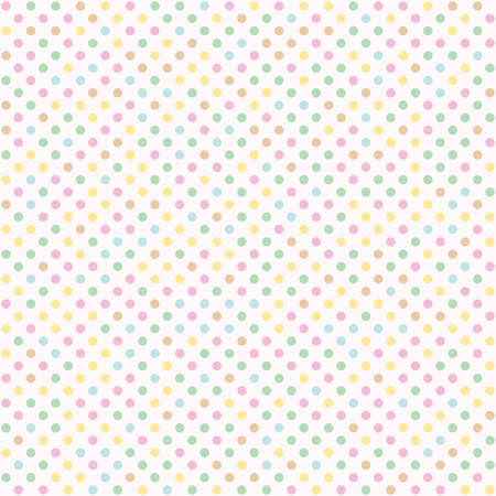 Seamless polka dot with diagonal lines pattern background. Colorful dotted template.