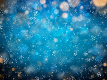 Abstract Christmas winter background. New year colorful celebration template. Foto de archivo - 143697823