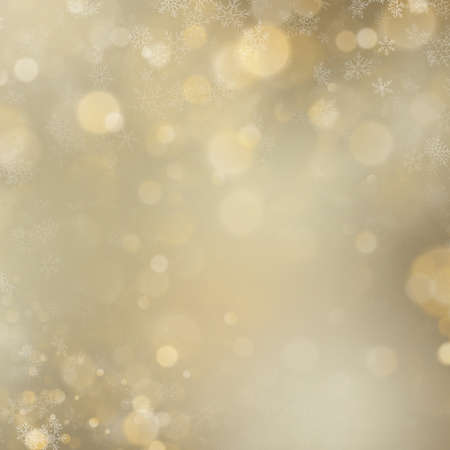 Christmas and New Year shimmering blur golden lights on abstract background. EPS 10 vector file Foto de archivo - 143688758