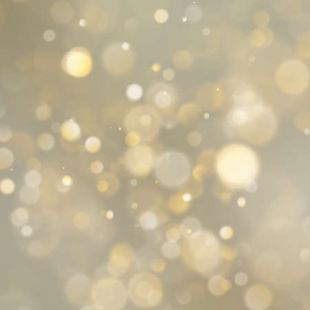 Christmas golden holiday abstract glitter defocused background with blurred bokeh. EPS 10 Foto de archivo - 143701478