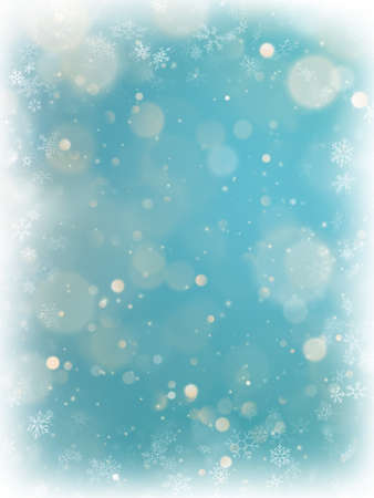 Christmas twinkling lights bokeh light background. EPS 10 矢量图像