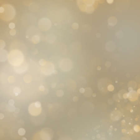 Gold abstract background with bokeh defocused lights. Imagens