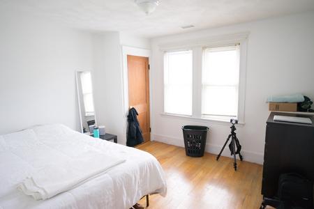 Minimalist simple bed living lifestyle hipster minimal