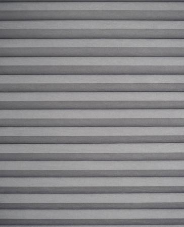 White grey textured blinds abstract horizontal ridged gray Stock Photo