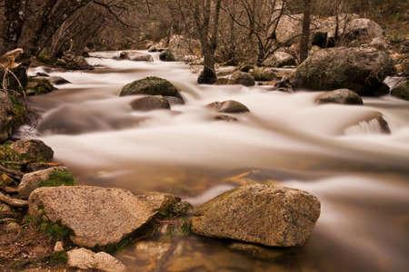 paysage: Manzanares river