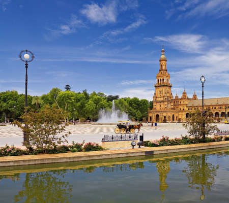 seville: Seville, square of spain