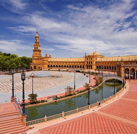 Seville, square of spain