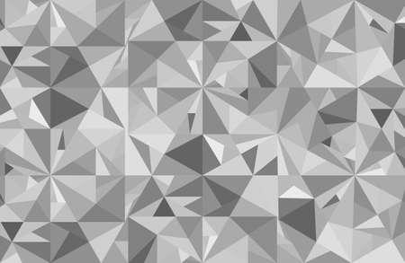 diamond background: Abstract grey diamond vector geometric art background