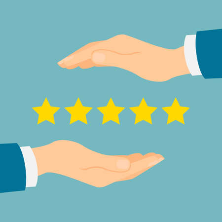 Good rating protection. Reputation insurance. Shop rating is five golden stars.