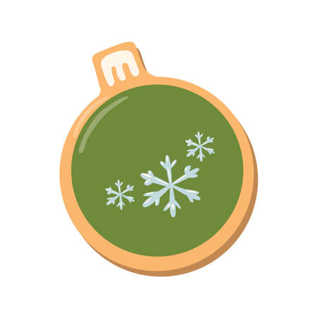 galleta de jengibre: Galletas de la Navidad chica. galletas de jengibre con la decoración aislada en el fondo blanco. regalo dulce y delicioso día de fiesta. Muchacha del ángel con pimiento verde.