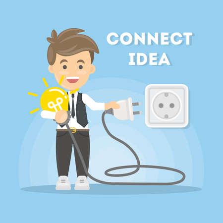 connectors: Connection of ideas.