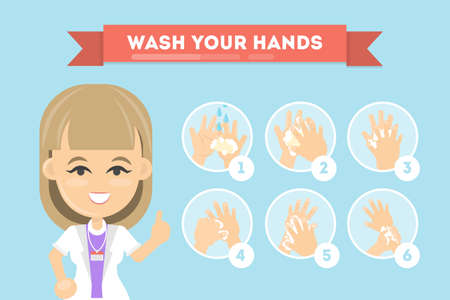 Wash your hands. Stok Fotoğraf - 81731203