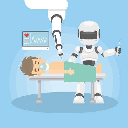 Robot as doctor.