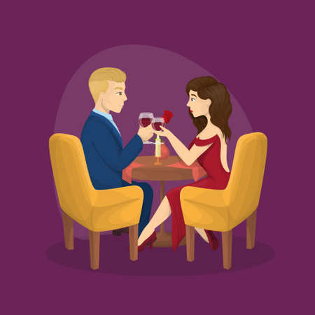 Romantic dinner for two.