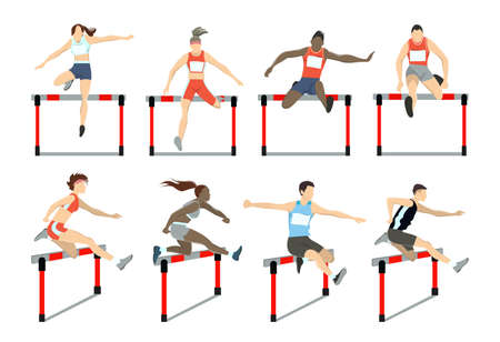 Running with barrier.