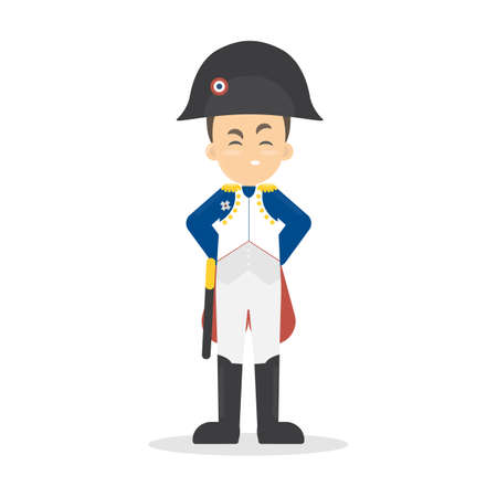 napoleon bonaparte: Isolated Napoleon Bonaparte.