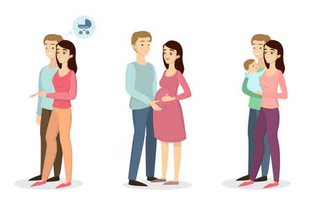 Pregnancy test concept