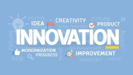 bright: Innovation concept illustration.