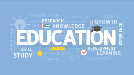 education concept: Education illustration concept.