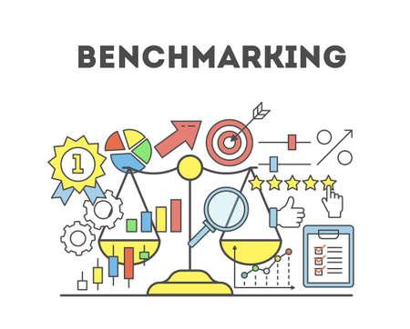 Benchmarking-Konzept Abbildung.