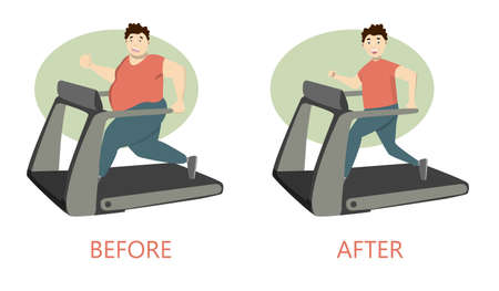 endurance run: From fat to fit.