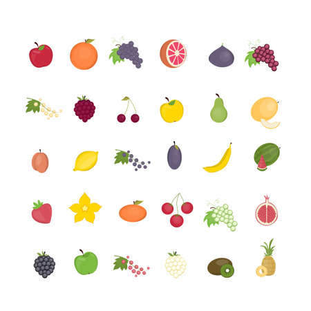 Different fruit set.