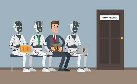 Hiring people or robots.