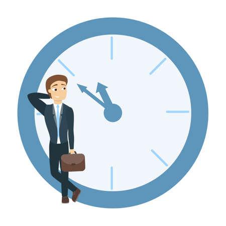 concept de gestion du temps. Vecteurs