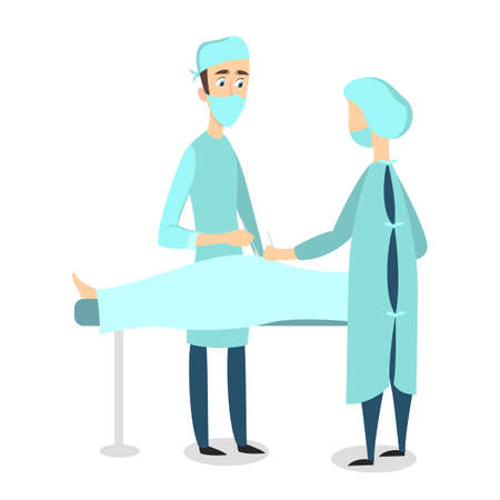 Isolated doctors surgery.