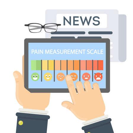 Pain measurement scale.