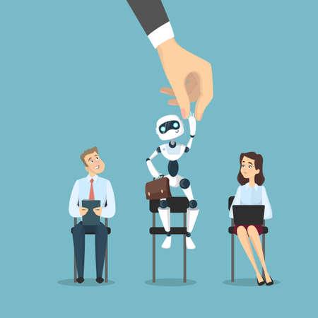 Robot for work illustration.