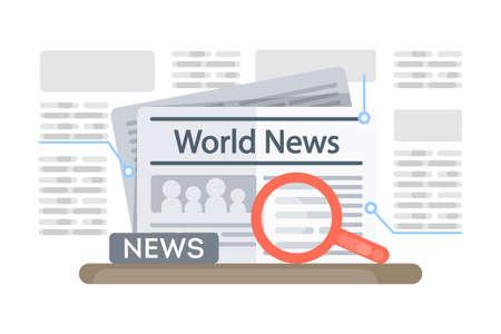 World news newspaper.