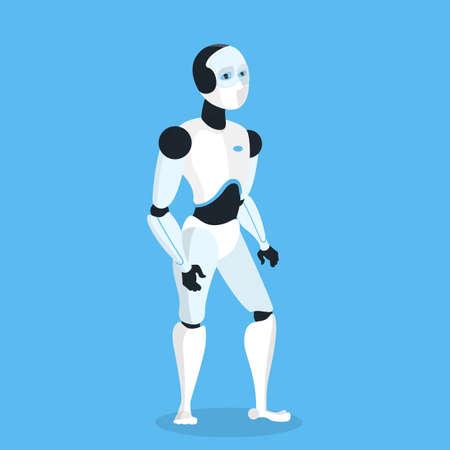 Future robot image illustration Illustration