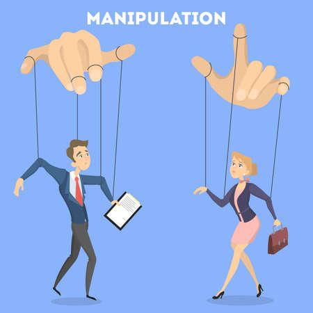 Manipulation of employees.