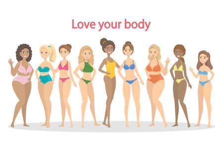 Amo tu cuerpo.