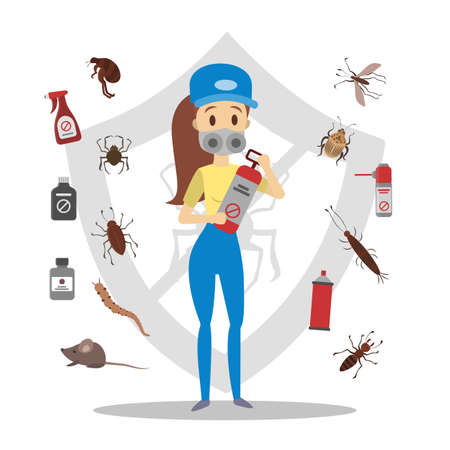 Pesticides and insects.