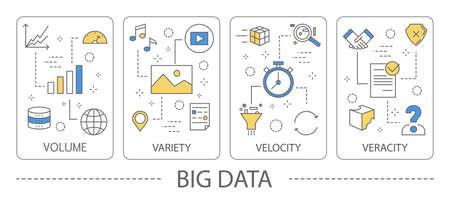 Big data illustration.