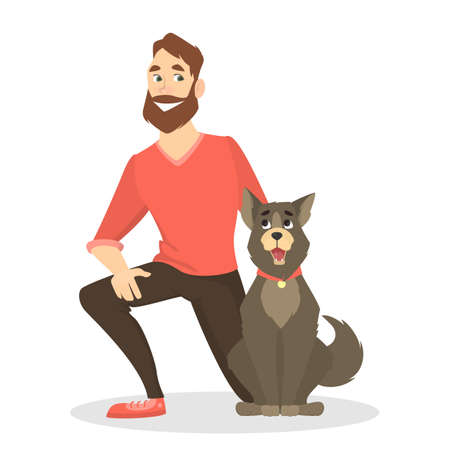 Propietarios con mascotas.