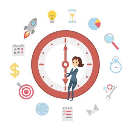Time management set.