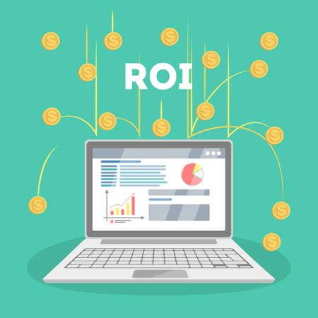 ROI concept illustration.