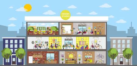 Design studio office