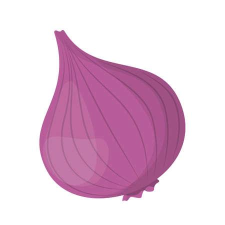 Oignon rouge. Végétarien d'aliments biologiques sains frais