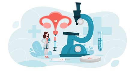 Concept de fécondation in vitro. Idée d'infertilité