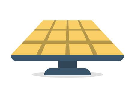 Solar panel alternative energy concept. Electricity power Archivio Fotografico - 130767758