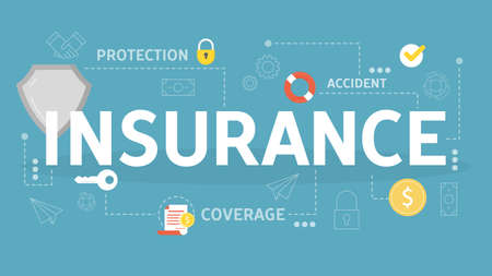 Insurance concept. Idea of security and protection