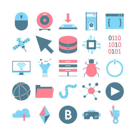 Technology concept. Innovation and progress, automation, future Stock Illustratie
