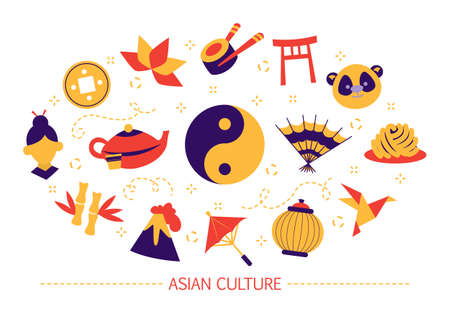 Asian culture concept. Japanese food, east tradition. Tea
