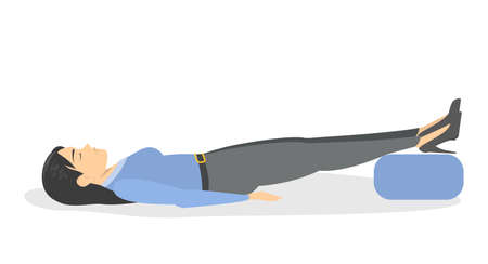 Fainting first aid. What to do in emergency situation Illustration