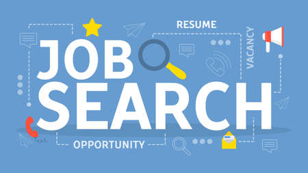 Employment and job search concept. Idea of recruitment